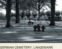 German Cemeterty Langemark, Great War Ypres France