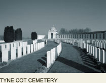 Tyne Cot Memorial, Great War Ypres France